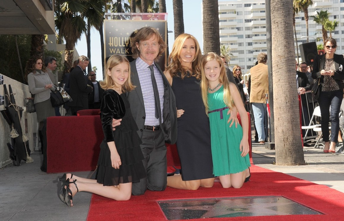 William H. Macy And Felicity Huffman Honored On The Hollywood Walk Of Fame
