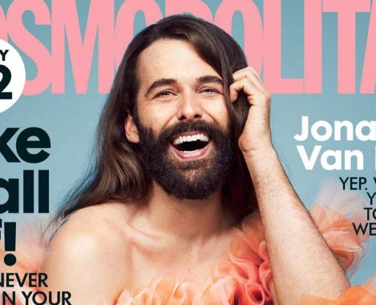 Jonathan Van Ness Covers Cosmopolitan UK