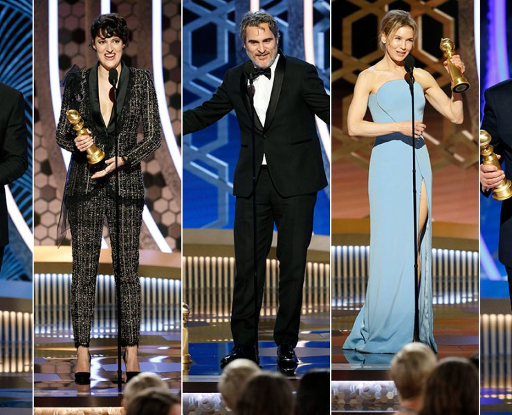 2020 Golden Globes winners