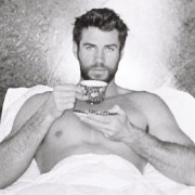 Liam Hemsworth Goes on Full Thirst Trap in Easter Photo 1