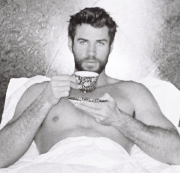 Liam Hemsworth Goes on Full Thirst Trap in Easter Photo 2