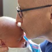 Anderson Cooper and Son Wyatt Morgan Cooper