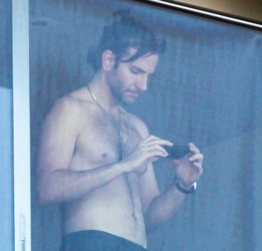 Shirtless Bradley Cooper enjoys the view in Rio de Janeiro - Part 2