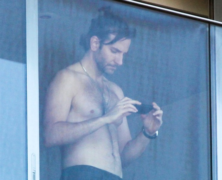 Shirtless Bradley Cooper enjoys the view in Rio de Janeiro - Part 2