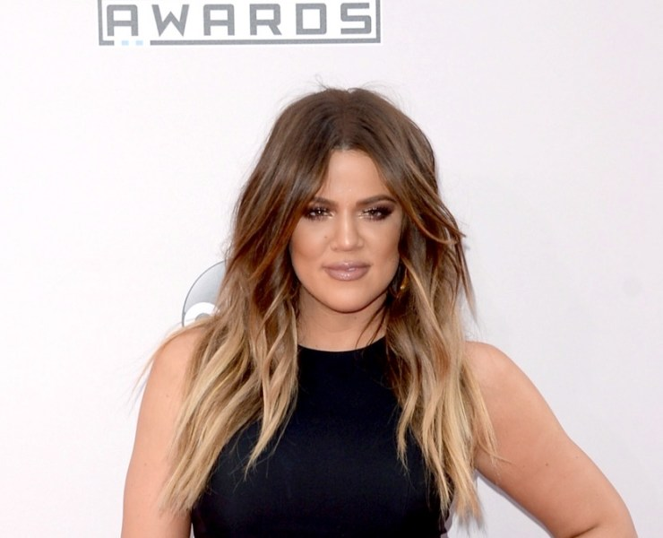 Khloe Kardashian at the 2014 American Music Awards - Arrivals