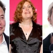 Elon Musk Lilly Wachowski and Ivanka Trump