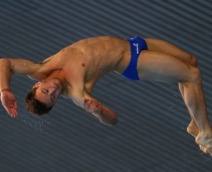 Tom Daley at the FINA/NVC Diving World Series 2014 - Day Three