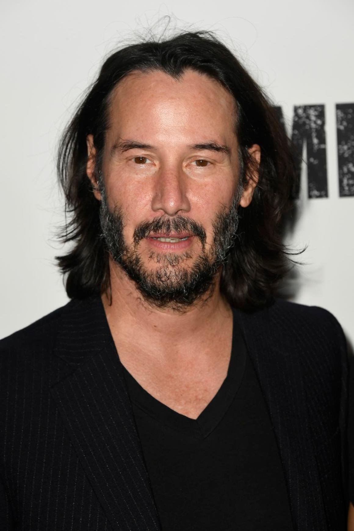 "Keanu Reeves at the Special Screening Of Lionsgate's ""Semper Fi"" - Arrivals"