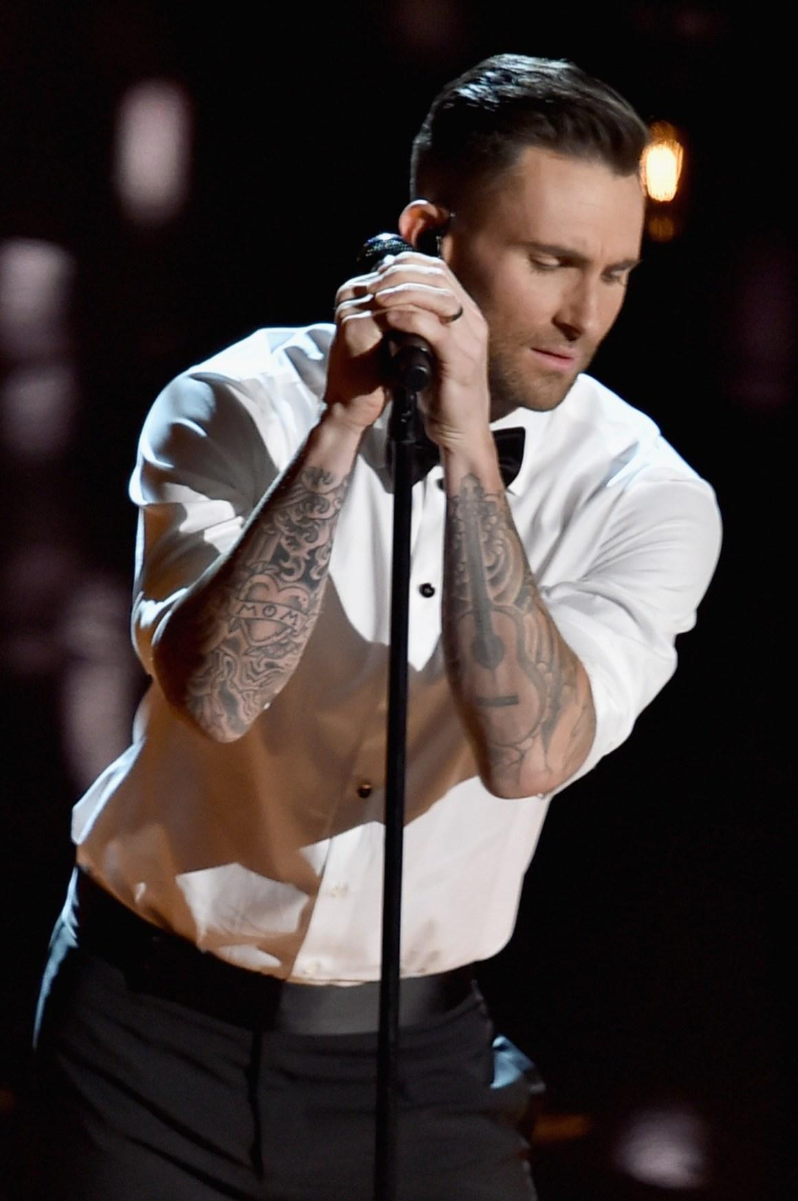 Adam Levine 87th Annual Academy Awards - Show