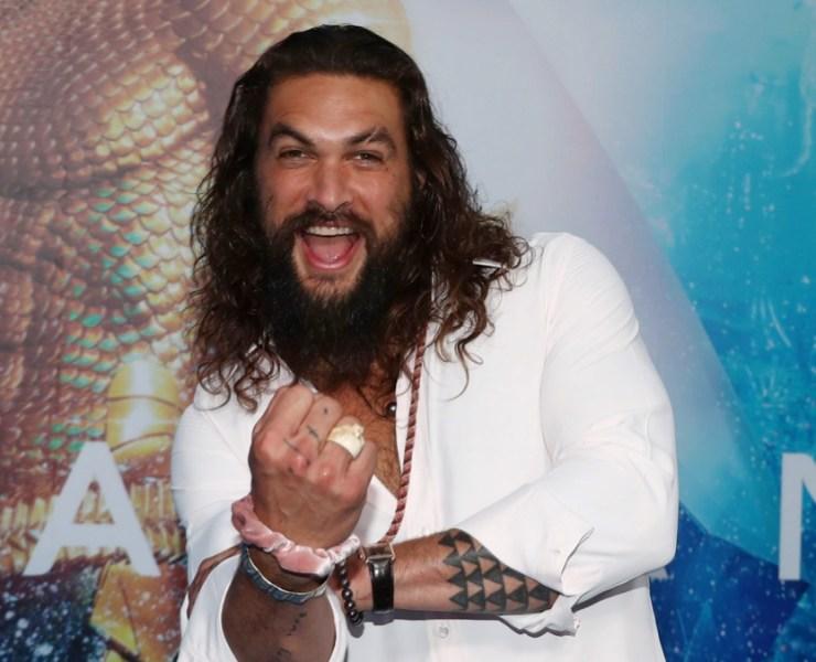 Jason Momoa Aquaman Australian Premiere - Arrivals