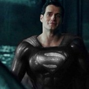 Zack Snyder Unveils Henry Cavill Wearing Black Superman Suit