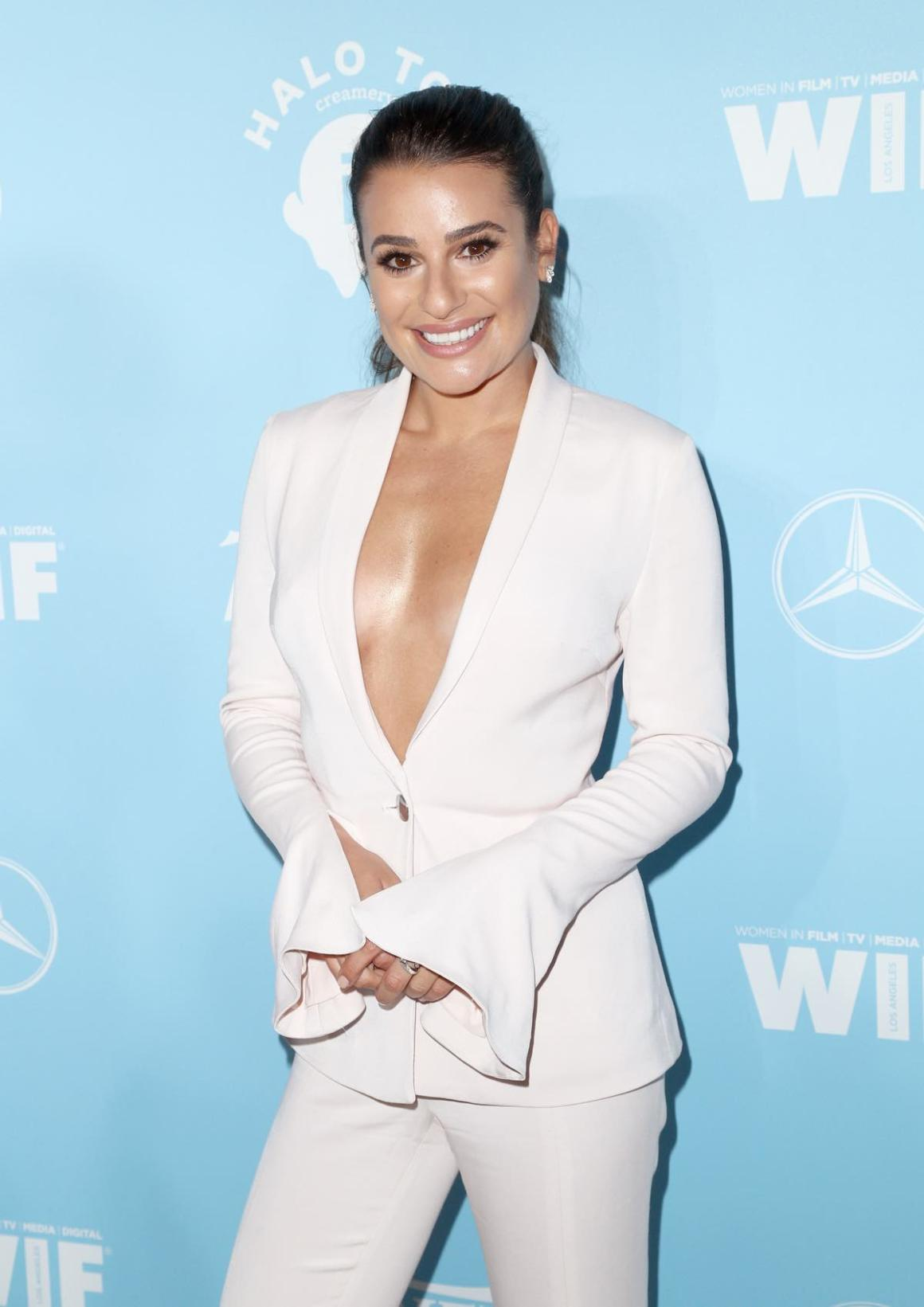 Lea Michele Variety And Women In Film's 2017 Pre-Emmy Celebration - Arrivals