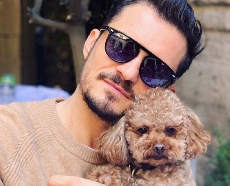 Orlando Bloom and Mighty