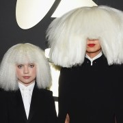Sia and Maddie Ziegler The 57th Annual GRAMMY Awards - Red Carpet