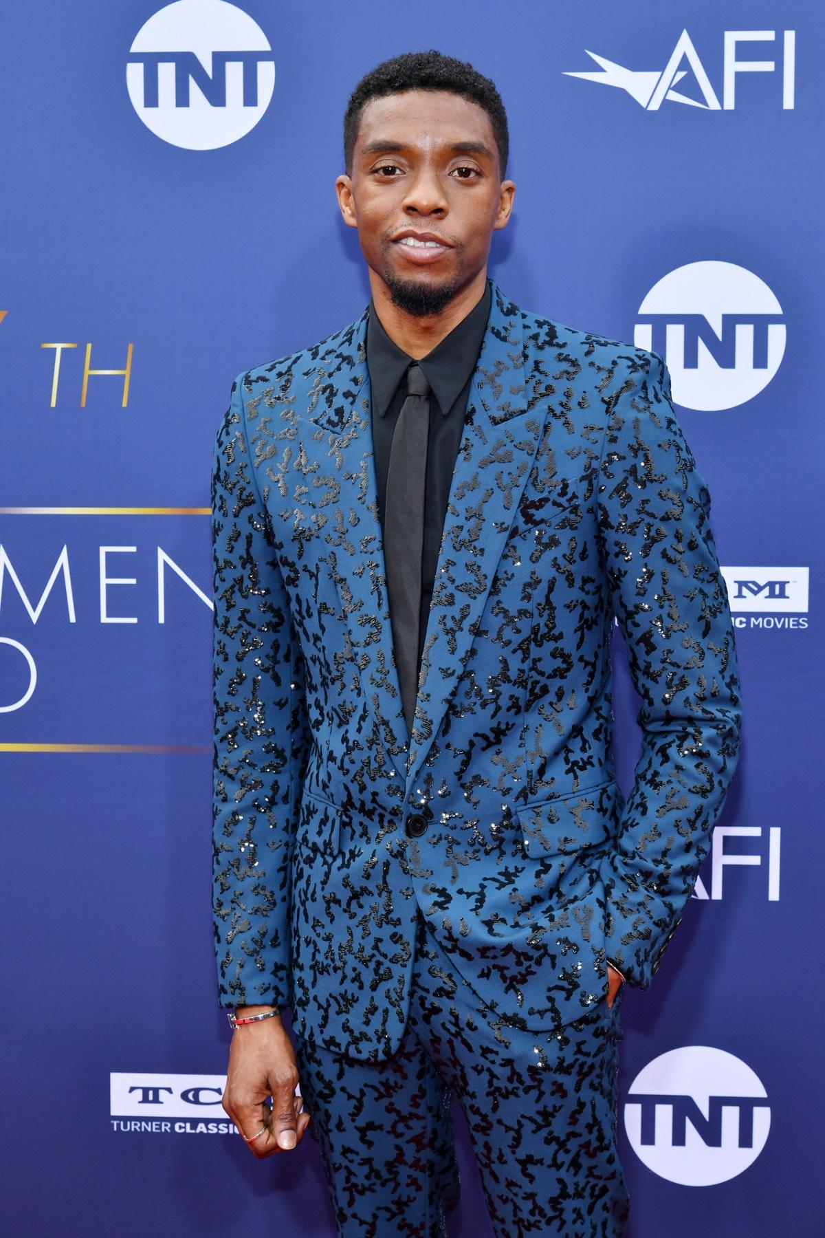 Chadwick Boseman 47th AFI Life Achievement Award Honoring Denzel Washington - Arrivals