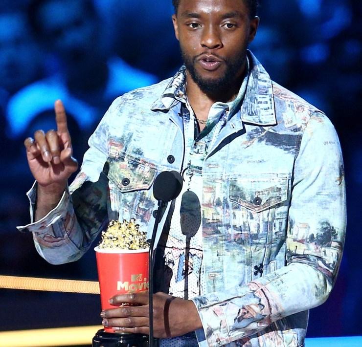 Chadwick Boseman 2018 MTV Movie And TV Awards - Show