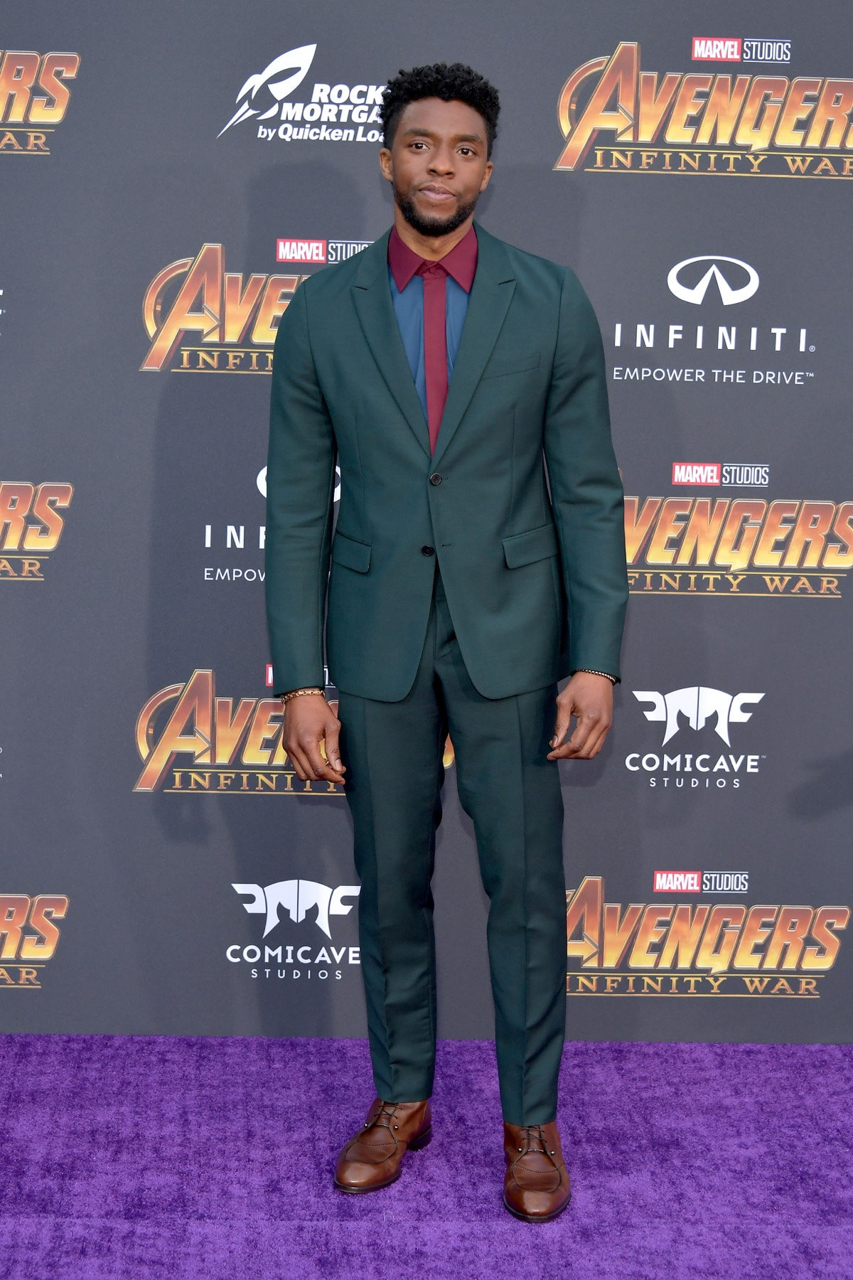 "Chadwick Boseman Premiere Of Disney And Marvel's ""Avengers: Infinity War"" - Arrivals"