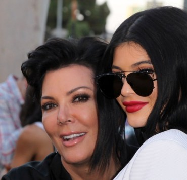 "Kris Jenner and Kylie Jenner New Line Cinema's Premiere Of ""The Gallows"" - Red Carpet"