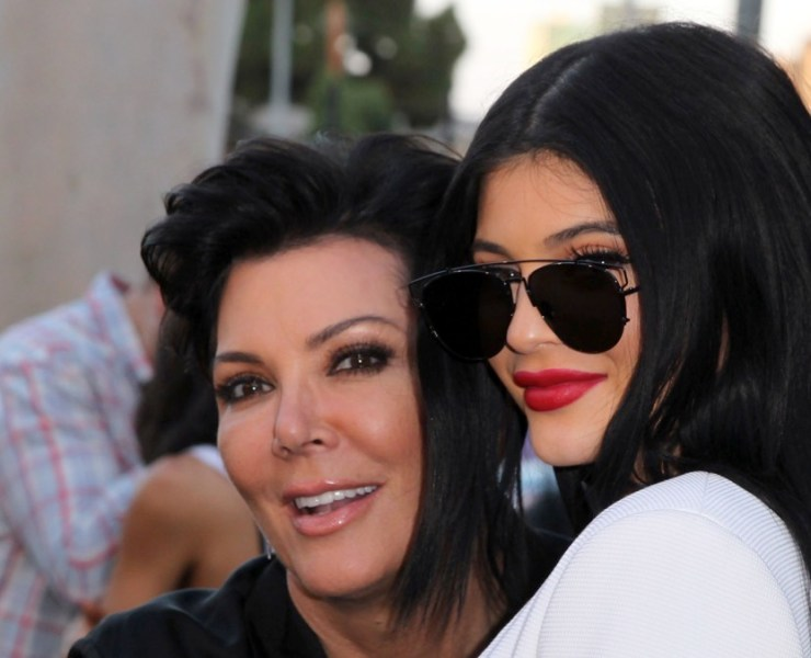 """Kris Jenner and Kylie Jenner New Line Cinema's Premiere Of """"The Gallows"""" - Red Carpet"""