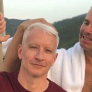 Anderson Cooper and Andy Cohen