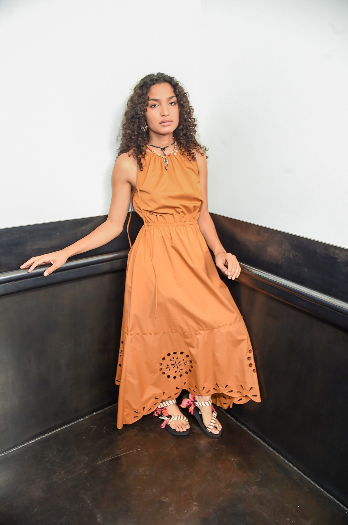 Indya Moore at Jason Wu - September 2020 - New York Fashion Week: The Shows