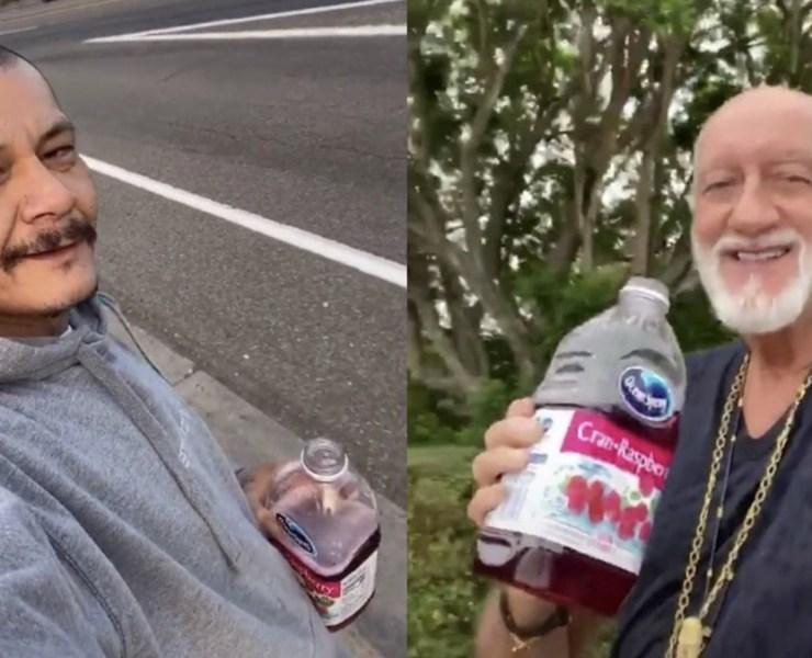 Mick Fleetwood Recreates Viral TikTok 'Dreams' Skateboarding Video