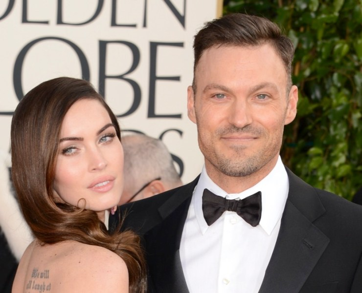 Megan Fox and Brian Austin Green 70th Annual Golden Globe Awards - Arrivals