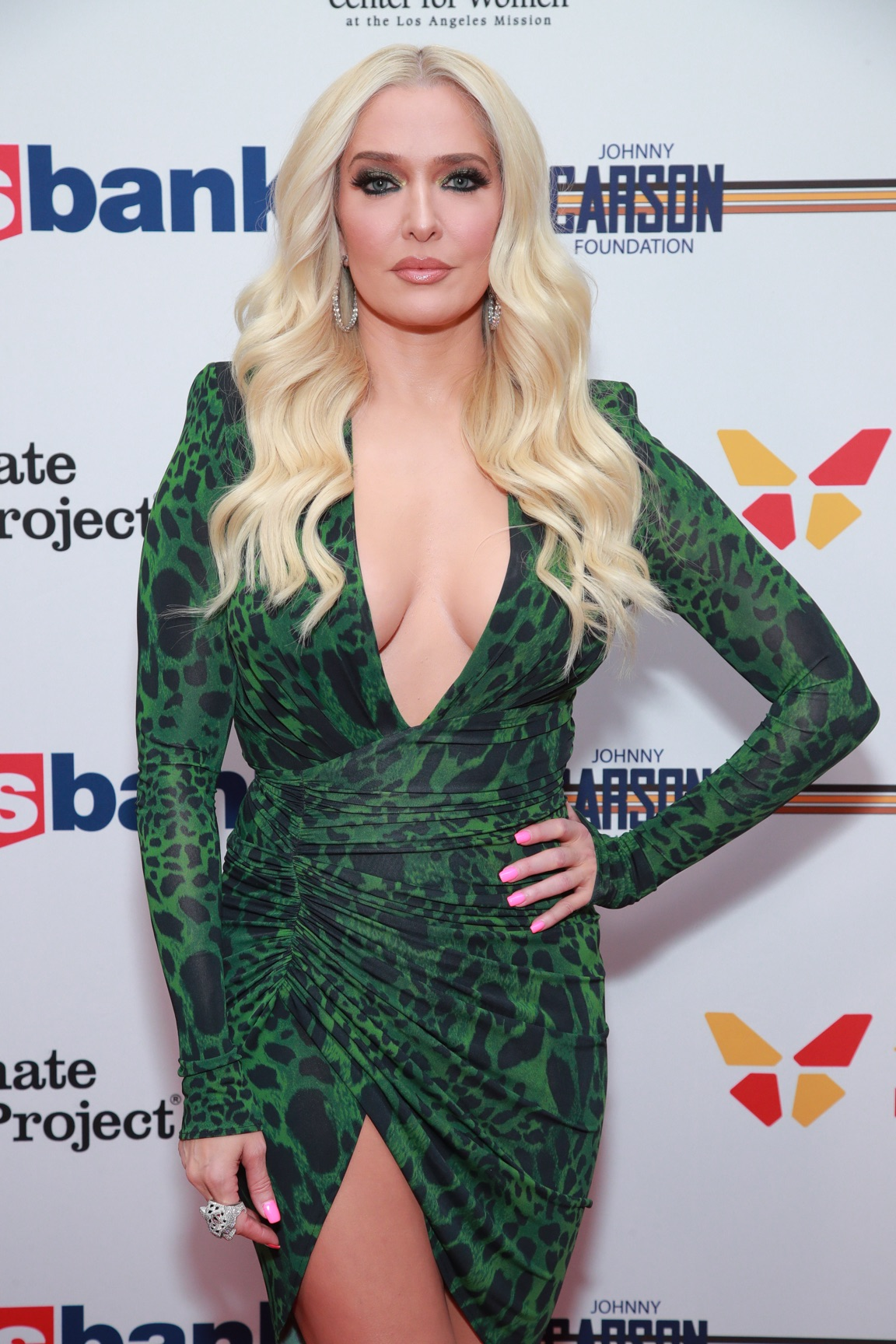 Erika Jayne The Los Angeles Mission Legacy Of Vision Gala - Arrivals