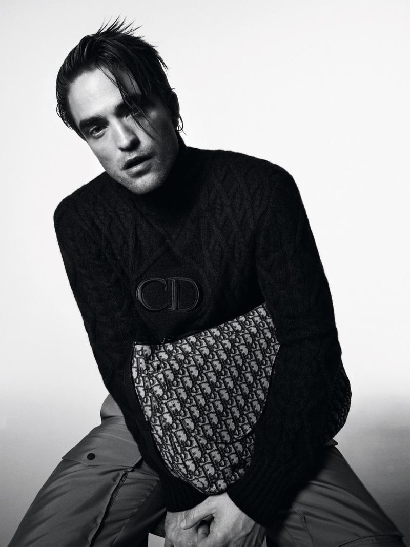 Robert Pattinson Dior's men's spring summer 2021 collection
