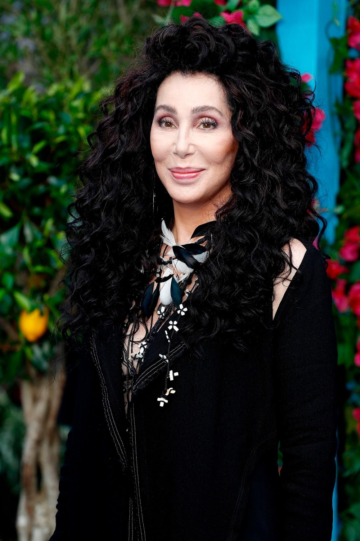"Cher ""Mamma Mia! Here We Go Again"" - UK Premiere - Red Carpet Arrivals"