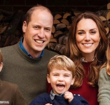 Prince William and Kate Middleton Holiday Photo