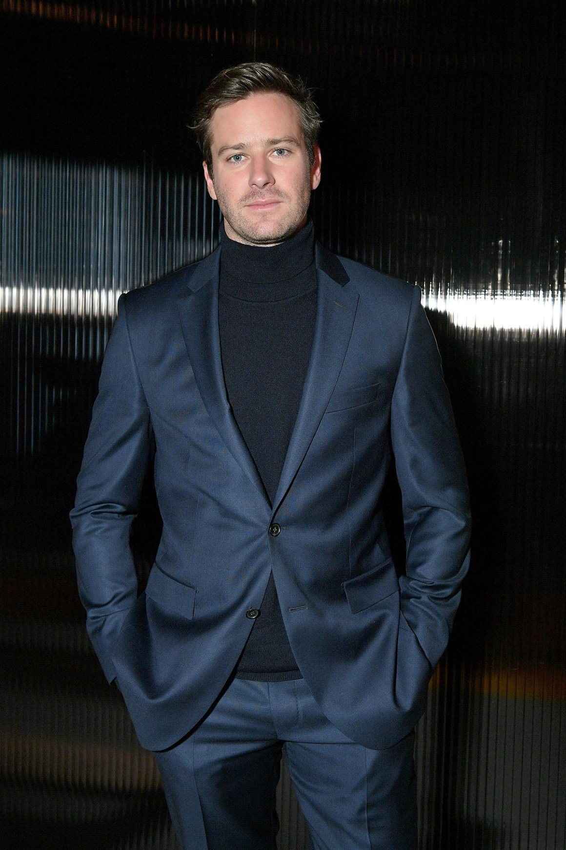 Armie Hammer BOSS Menswear - Front Row - February 2018 - New York Fashion Week Mens'