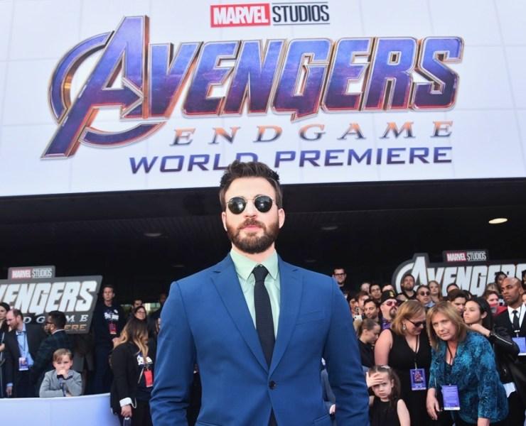 """Chris Evans Los Angeles World Premiere Of Marvel Studios' """"Avengers: Endgame"""""""