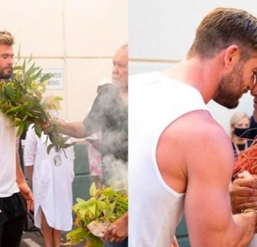 Chris Hemsworth Thor filming ritual