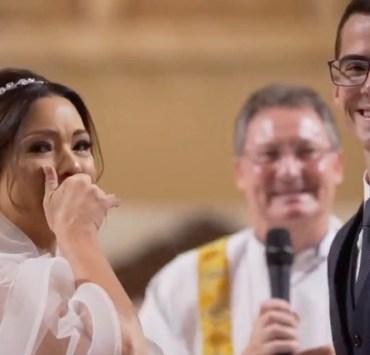Groom surprises his bride with amazing gesture at wedding