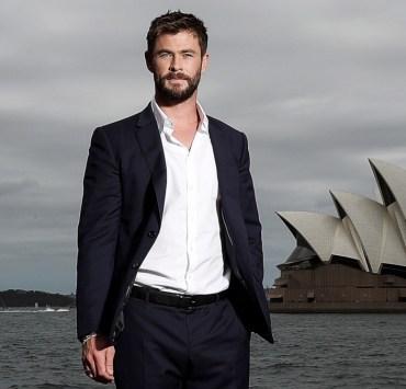 Chris Hemsworth Thor: Ragnarok Sydney Photo Call