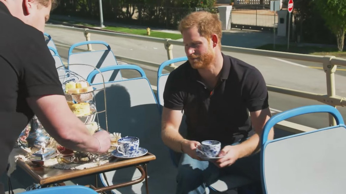 Prince Harry appears on The Late Late Show With James Corden