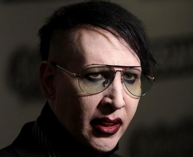 Marilyn Manson Relentless Energy Drink Kerrang! Awards