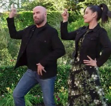 John Travolta and Daughter Ella Do Grease Dance in Super Bowl Commercial