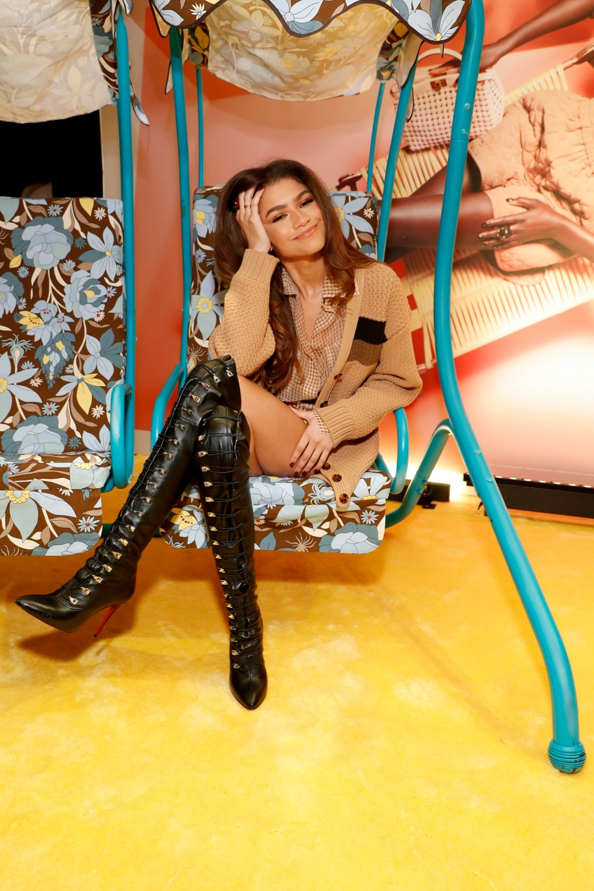 Zendaya Fendi Celebrates The Launch Of Solar Dream