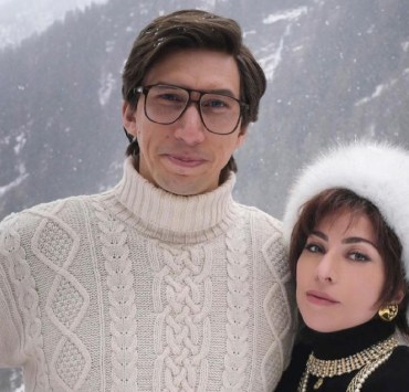 Lady Gaga and Adam Driver for House of Gucci
