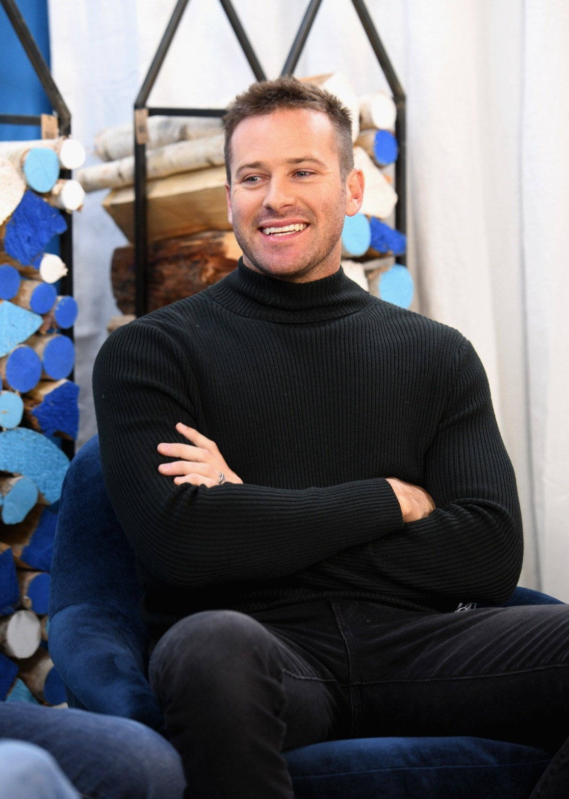 Armie Hammer The Vulture Spot At Sundance - DAY 2
