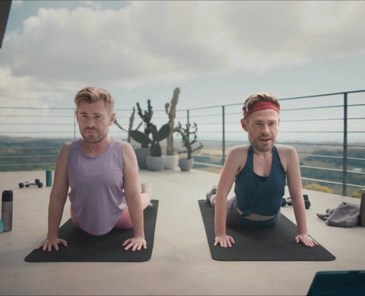Chris Hemsworth pokes fun at himself in new Centr fitness app ad
