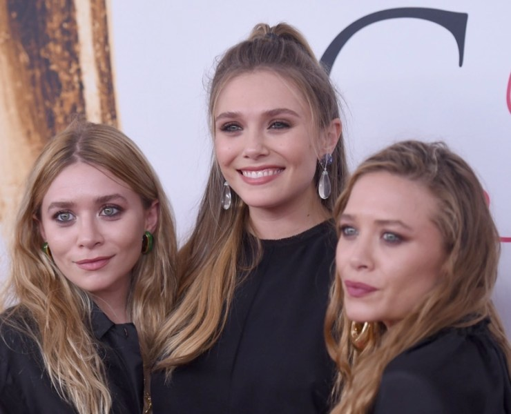 Elizabeth Olsen Mary Kate Olsen Ashley Olsen 2016 CFDA Fashion Awards - Arrivals