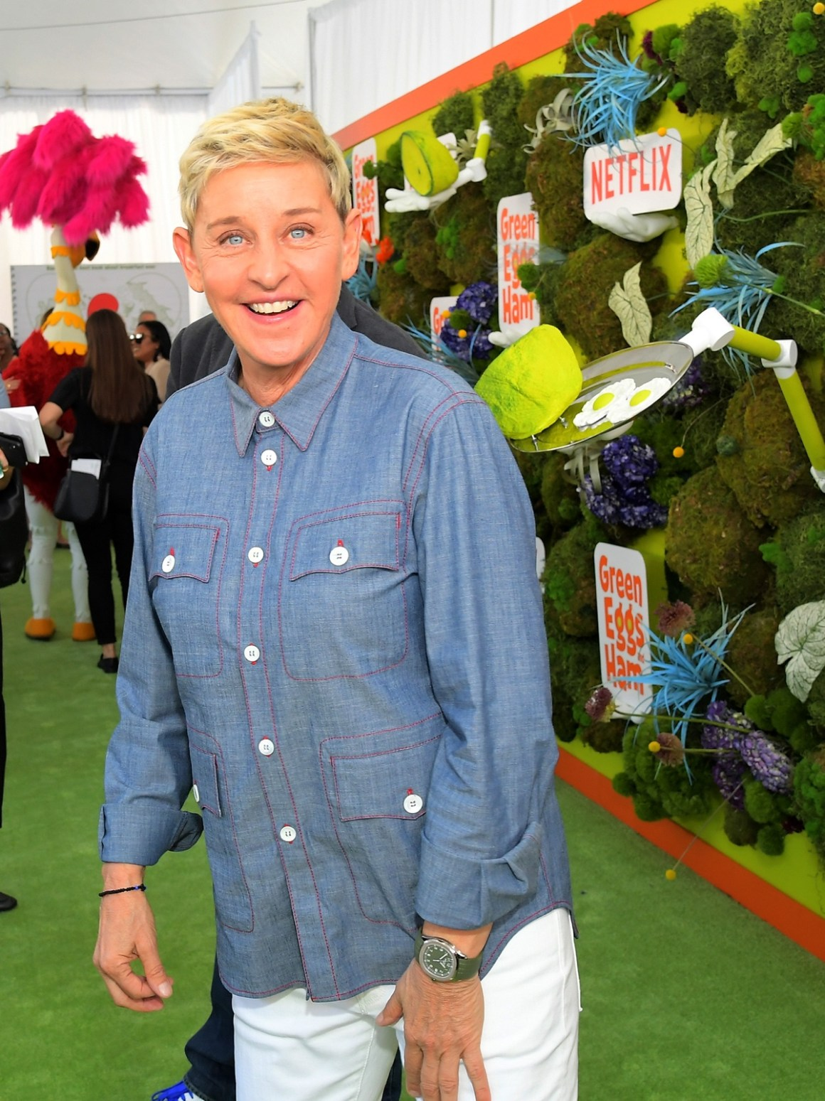 Ellen Degeneres Netflix 'Green Eggs & Ham' Los Angeles Premiere
