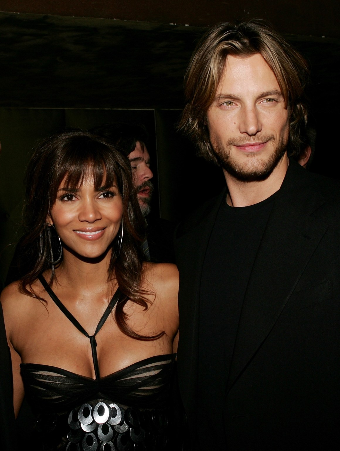 Halle Berry and Gabriel Aubry Premiere Of Perfect Stranger - After Party