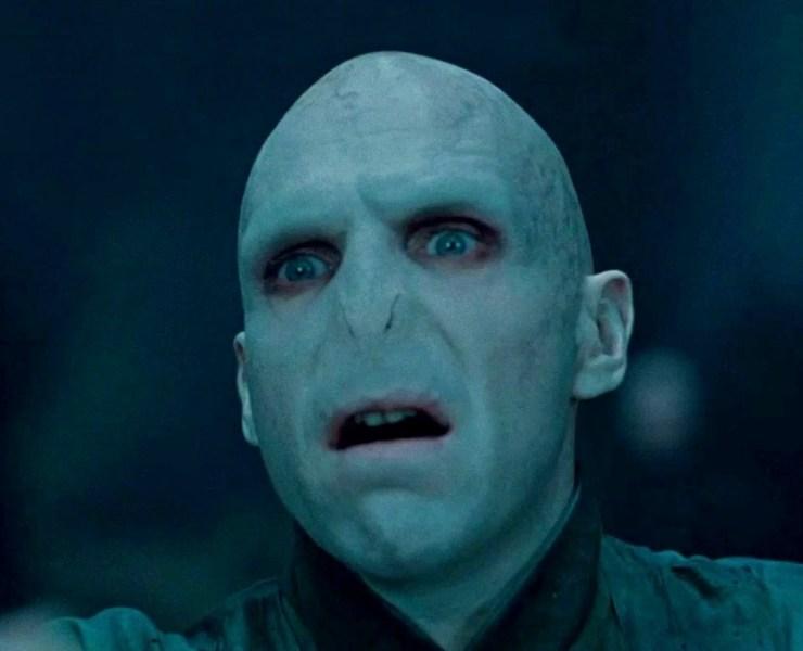 Voldemort aka Ralph Fiennes