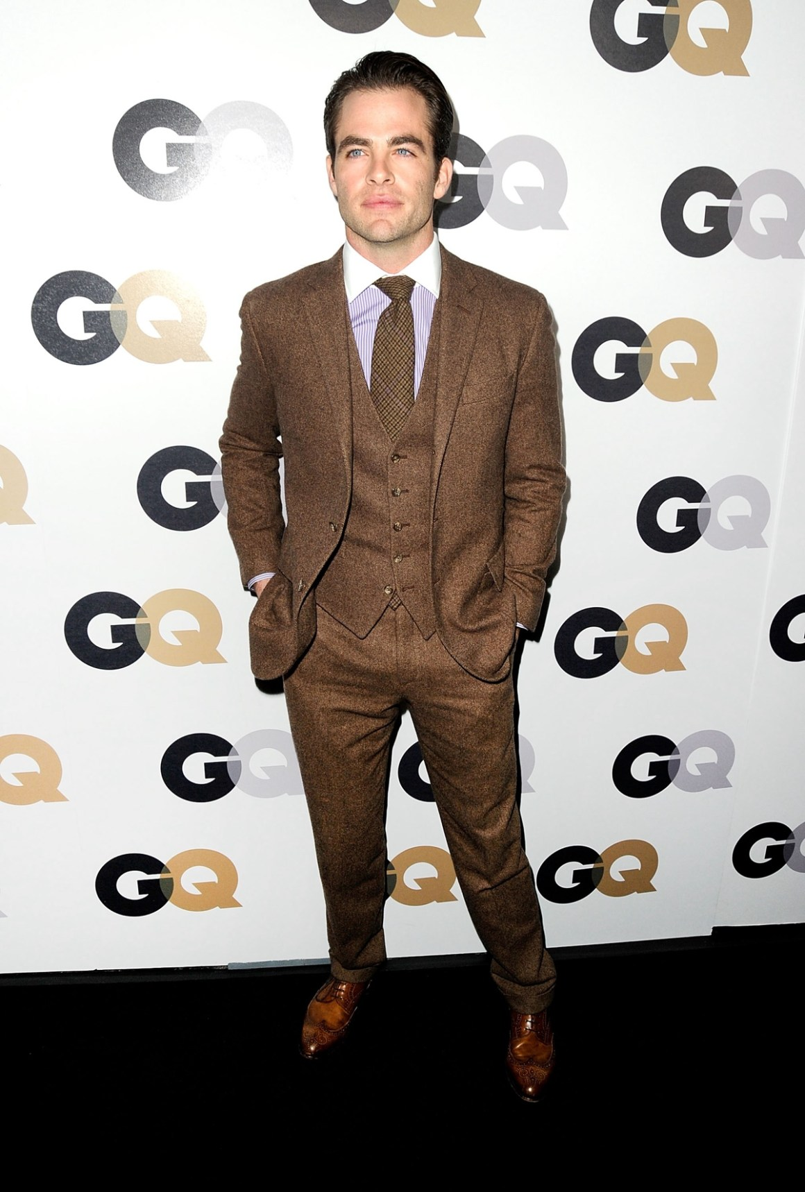 """Chris Pine 16th Annual GQ """"Men Of The Year"""" Party - Arrivals"""