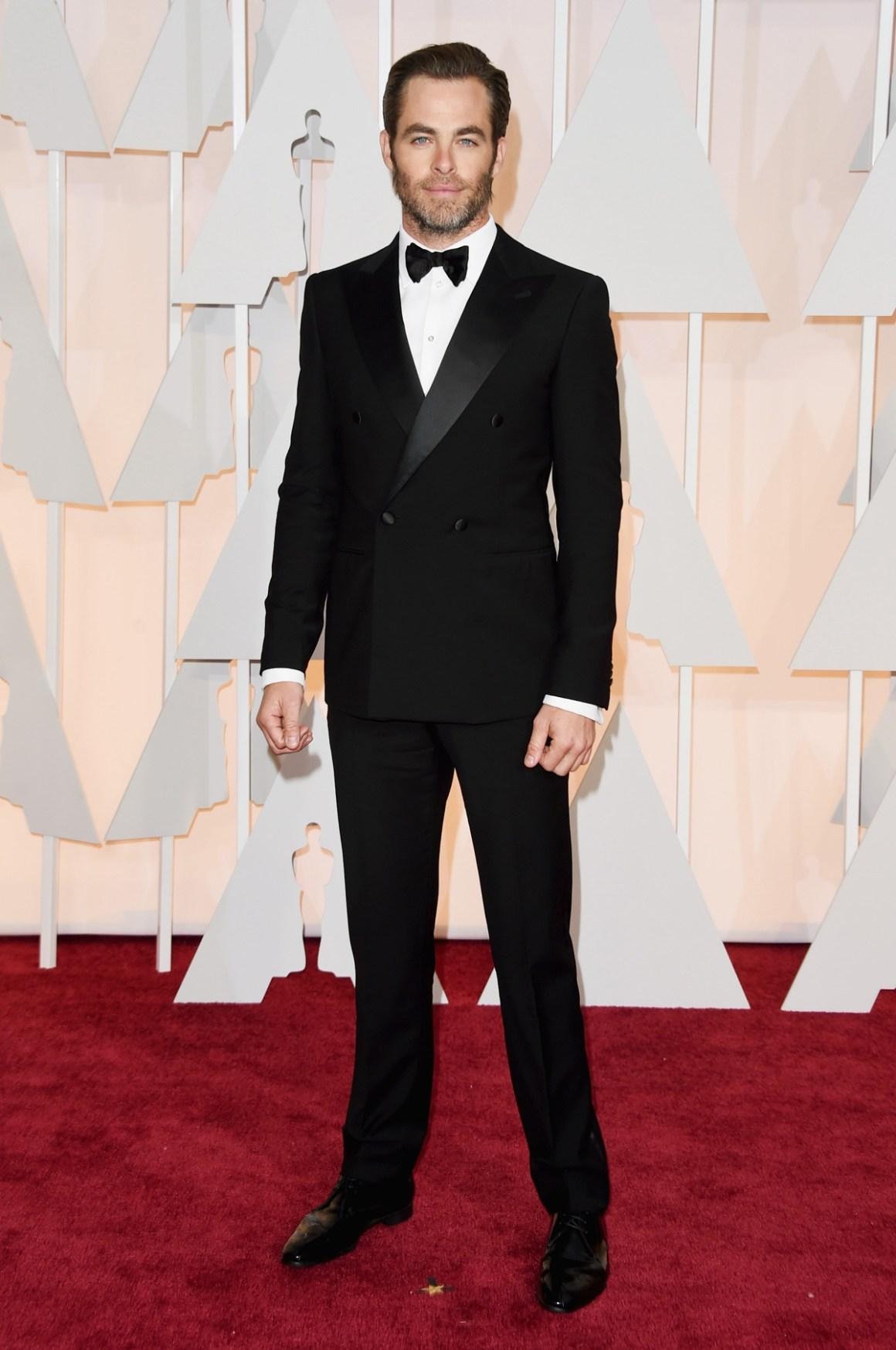 Chris Pine 87th Annual Academy Awards - Arrivals
