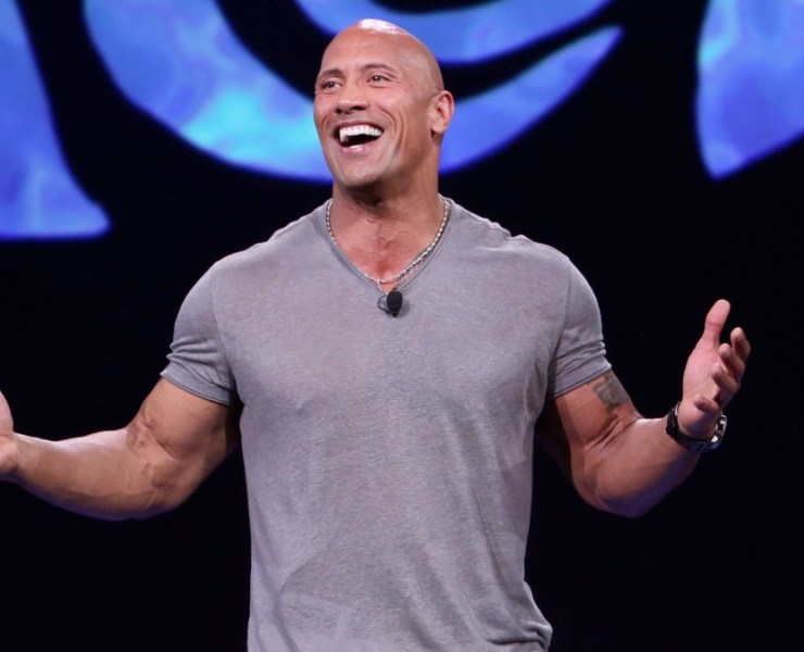 "Dwayne Johnson ""Pixar And Walt Disney Animation Studios: The Upcoming Films"" Presentation At Disney's D23 EXPO 2015"